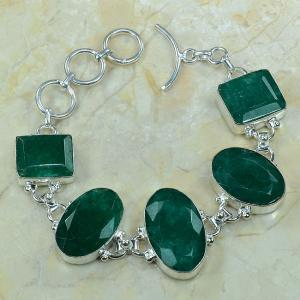 Em 0340c bracelet emeraude argent 925 achat vente bijou