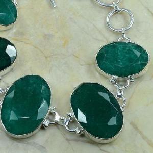 Em 0343c bracelet emeraude argent 925 achat vente bijou