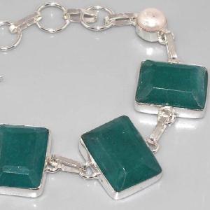 Em 0352b collier emeraude argent 925 achat vente bijoux