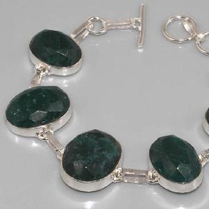 Em 0356b bracelet emeraude argent 925 achat vente
