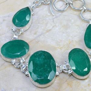 Em 0396b bracelet emeraude argent 925 achat vente