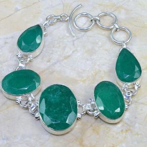 Em 0396d bracelet emeraude argent 925 achat vente