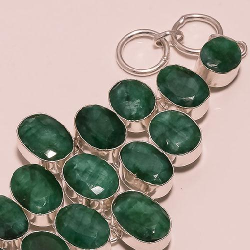 Em 0398c bracelet emeraude argent 925 achat vente