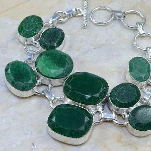 Em 0414b bracelet emeraude cachemire argent 925 achat vente bijoux
