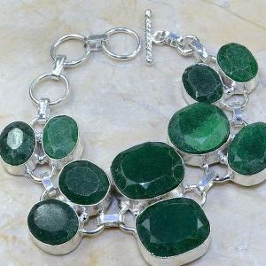 Em 0414c bracelet emeraude cachemire argent 925 achat vente bijoux