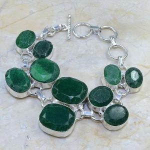 Em 0414d bracelet emeraude cachemire argent 925 achat vente bijoux