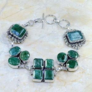 Em 0415d bracelet emeraude argent 925 achat vente bijoux