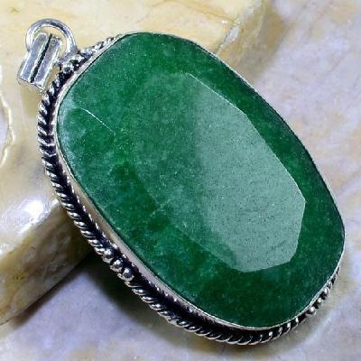 Em 0449a pendentif emeraude emerald lithotherapie gemme argent 925 achat vente bijoux