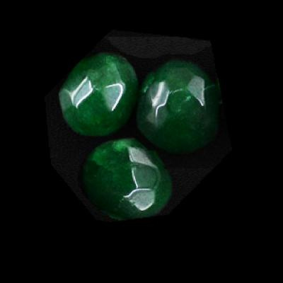 Em 0452a 3 perles emeraude bolivie 10x15 lot 3 loisirs creatifs achat vente creation bijoux