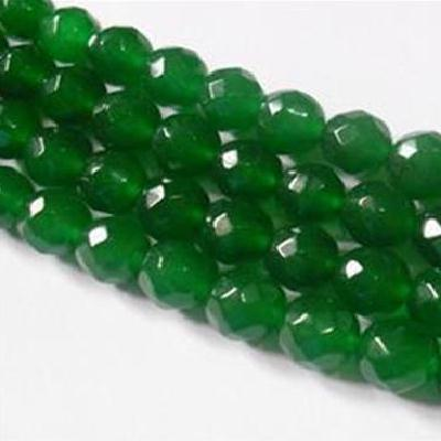 Em 0455a perles 14mm emeraude bolivie facettees loisirs creatifs achat vente creation bijoux