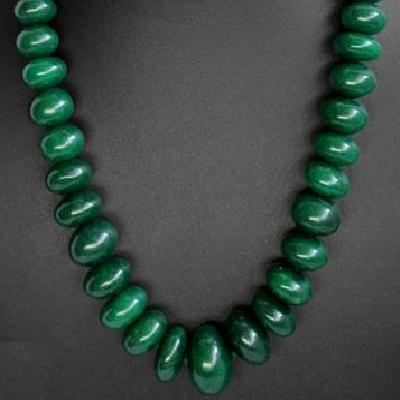 Em 0473a perles polies 15 x 10mm emeraude bolivie loisirs creatifs achat vente creation bijoux