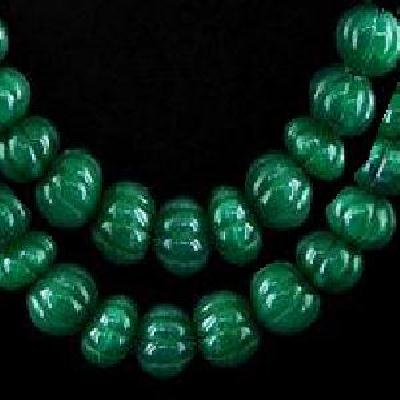 Em 0475a perles melon 15 x 10mm emeraude bolivie loisirs creatifs achat vente creation bijoux