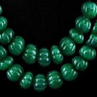 Em 0475a perles melon 15 x 10mm emeraude bolivie loisirs creatifs achat vente creation bijoux