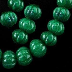 Em 0475b perles melon 15 x 10mm emeraude bolivie loisirs creatifs achat vente creation bijoux