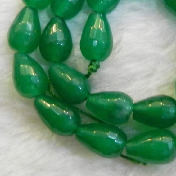 Em 0476a perles emeraude bolivie poire goutte achat vente loisirs creatifs