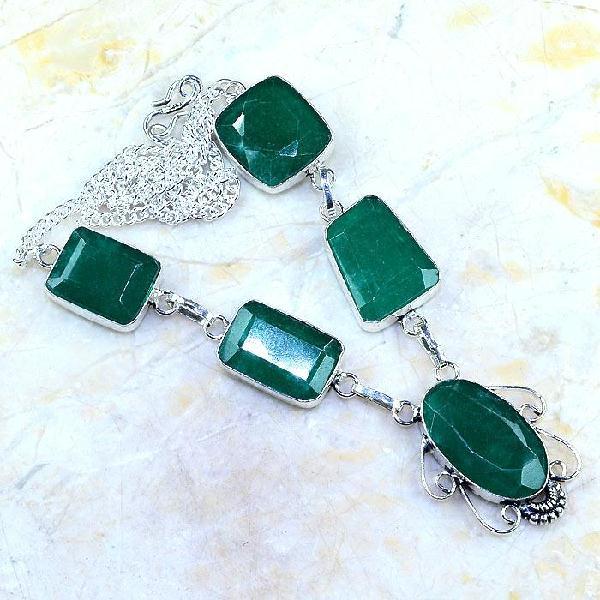 Em 0483a collier parure sautoir emeraude bresil achat vente bijoux ethniques