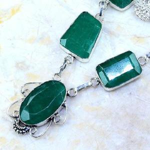Em 0483b collier parure sautoir emeraude bresil achat vente bijoux ethniques