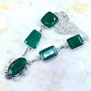 Em 0483d collier parure sautoir emeraude bresil achat vente bijoux ethniques