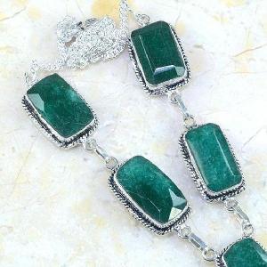 Em 0487c collier parure sautoir emeraude bresil achat vente bijoux ethniques