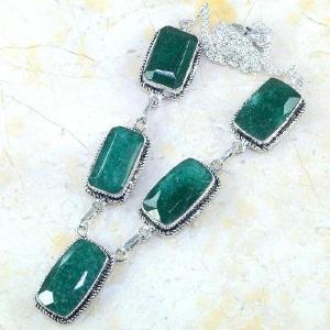 Em 0487d collier parure sautoir emeraude bresil achat vente bijoux ethniques
