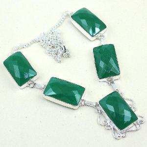 Em 0490a collier parure sautoir emeraude bresil achat vente bijoux ethniques