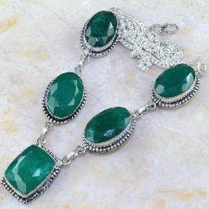 Em 0511d collier parure sautoir emeraude bresil bijou argent 925 achat vente 1