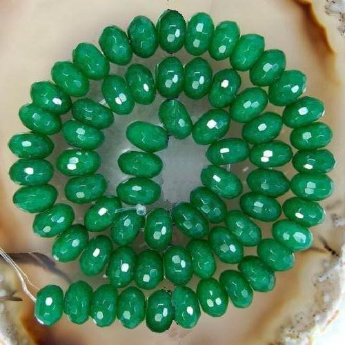 Em 0602a perles emeraude 5x7mm verte loisirs creatifs achat vente