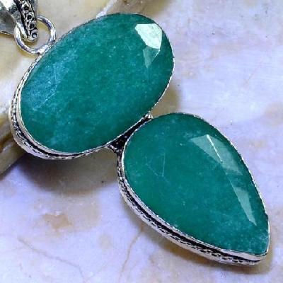 Em 0603c pendentif pendant emeraude bresil emerald achat vente bijoux ethniques
