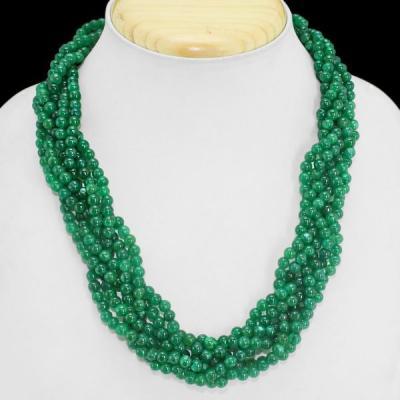 Em 0609a collier parure sautoir emeraudes achat vente bijoux