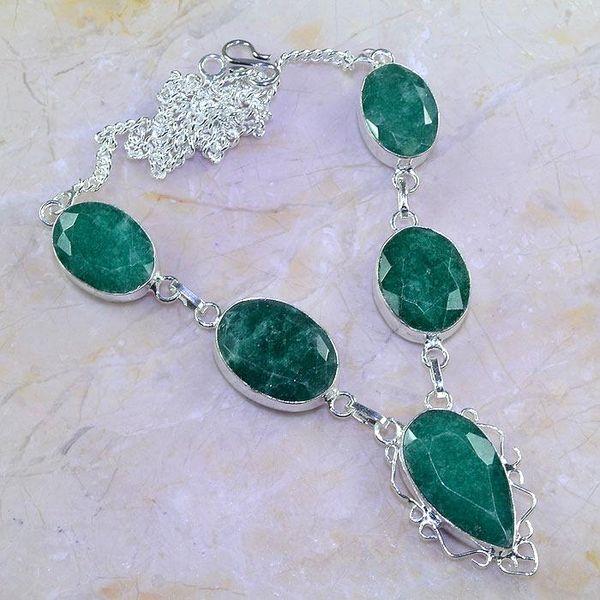 Em 0616a collier parure sautoir emeraudes achat vente bijoux 1