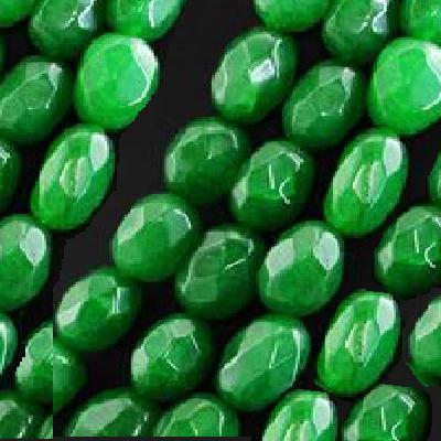 Em 0619c lot 12 perles emeraude 13x8mm achat vente loisirs creatifs