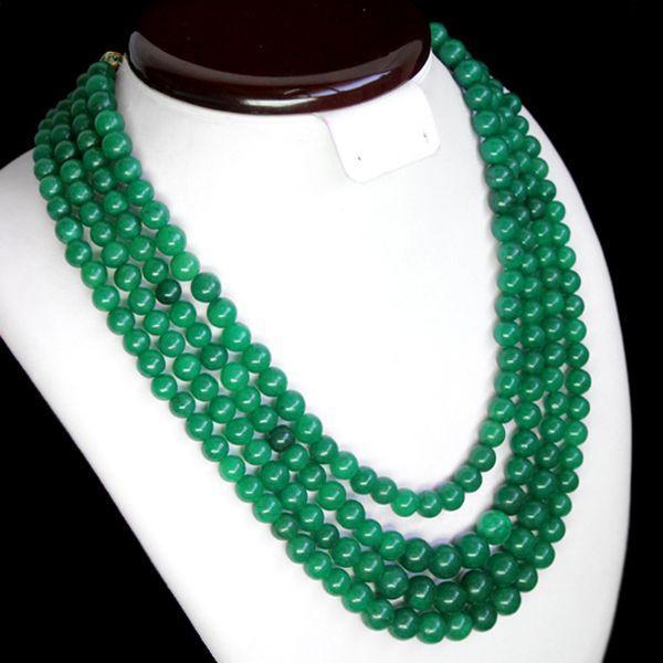 Em 0630b collier parure sautoir emeraudes perles achat vente bijoux