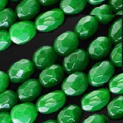 Em 0631a lot 2 perles emeraude 13x8mm achat vente loisirs creatifs