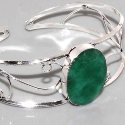 Em 0632c bracelet torque emeraude argent 925 achat vente bijou 1 1