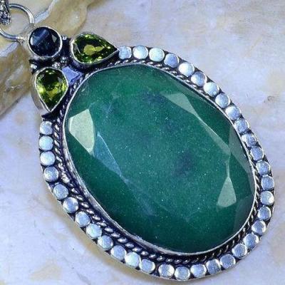 Em 0640c pendentif pendant emeraudes peridot achat vente bijoux argent 925 1 1