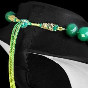 Em 0719c collier parure sautoir 10x15mm emeraudes facette achat vente bijoux argent 925