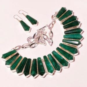 Em 0944a collier boucles oreilles emeraude rubis 150gr 10x30mm achat vente bijou argent 925