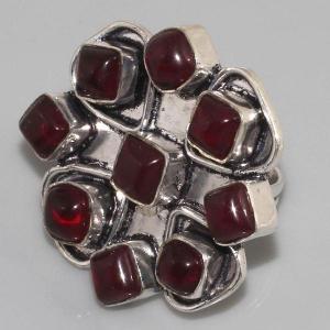 Gr 0032b bague grenat achat vente bijou argent 925