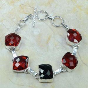 Gr 0035c bracelet grenat argent 925 achat vente bijou