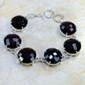 Gr 0054c bracelet grenat argent 925 achat vente bijou