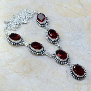 Gr 0069a bracelet grenat garnet argent 925 achat vente bijou