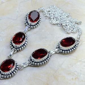 Gr 0069b bracelet grenat garnet argent 925 achat vente bijou