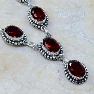 Gr 0069c bracelet grenat garnet argent 925 achat vente bijou