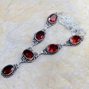 Gr 0074a pendant pendentif grenat garnet argent 925 achat vente bijou