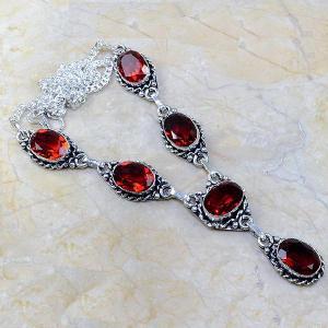 Gr 0074c pendant pendentif grenat garnet argent 925 achat vente bijou