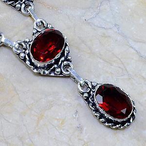 Gr 0074e pendant pendentif grenat garnet argent 925 achat vente bijou