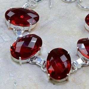 Gr 0076b bracelet grenat garnet argent 925 achat vente bijou