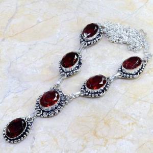 Gr 0081d collier parure sautoir grenat bijou argent 925 achat vente bijou