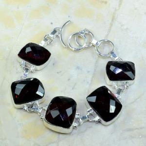 Gr 0089d bracelet grenat garnet argent 925 achat vente bijou