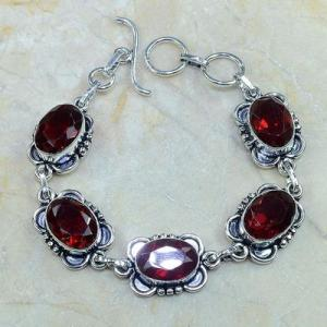 Gr 0096d bracelet grenat garnet argent 925 achat vente bijou